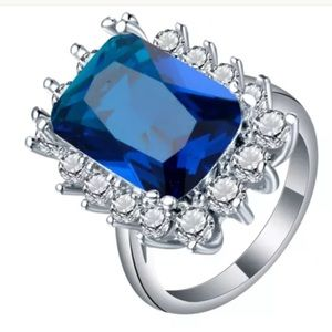 This Sapphire ring is a Royal engagement ring